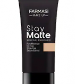 FARMASİ MAKE UP STAY MATTE FONDÖTEN 30 ML SAND BEIGE-04