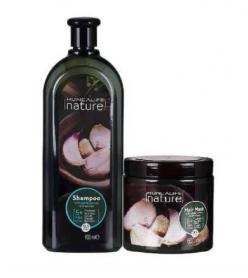 Huncalife Nature Sarımsaklı Şampuan 900 ml+500 ml maske