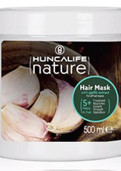 Huncalife Sarımsaklı Şampuan 500 ml,Sarımsaklı Saç Maskesi 500 ml