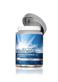 ORİFLAME Erkek için Multivitamin ve Mineral Takviye Edici Gıda